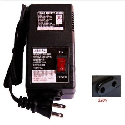 Step Up Voltage converter transformer from 110V to 220V max power 100W 70w below