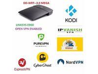 OPEN VPN DD-WRT MEGA BUILD Linksys E900 N300 Router VPN