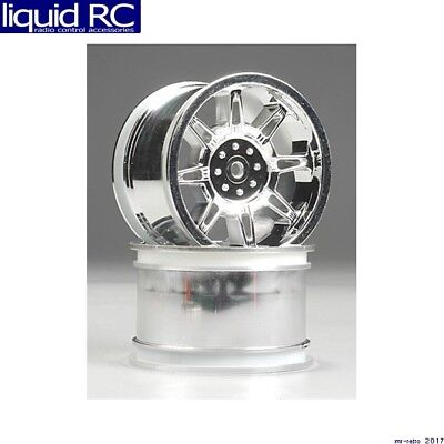 RPM R/C Products 81953 Monster Spider Std Wheel chrome (2)