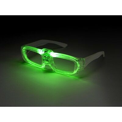 Men's Sound Activated Light Up Flashing Fancy Dress Glasses Stag Theme Fun 80's ](80 Themed Costumes)