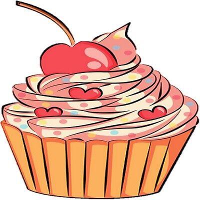 30 Custom Love Cupcake Personalized Address Labels