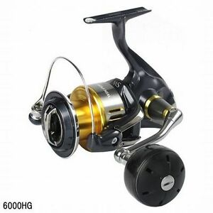 Shimano 15 TWIN POWER SW 6000-HG Spinning Reel New!