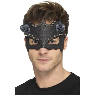 Black Devil Hupe Maske Erwachsene Augenmaske Halloween Kostüm (Black Devil Halloween Kostüm)