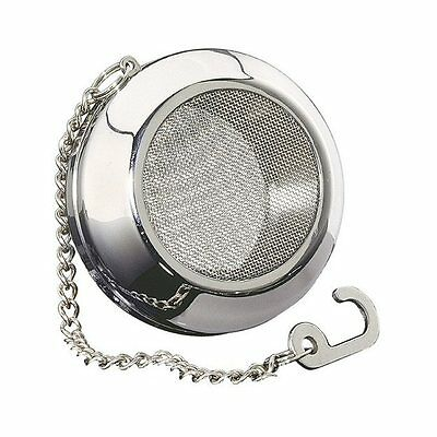 "Kuchenprofi Stainless Steel 2.4"" Porthole Tea Ball - Steeper"