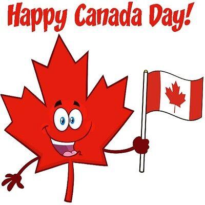 30 Custom Happy Canada Day Personalized Address Labels