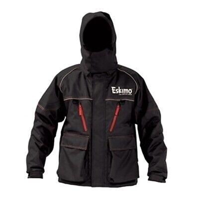 Arctic Armor Floating Extreme Weather Ice Fishing Jacket Black 2X