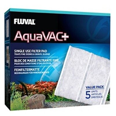 Fluval Internal Filter (Fluval Aquavac+ Replacement Fine Filter Pad (5 Pack))