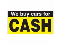 WE BUY ANY CAR, VAN, BIKE FOR CASH!!! Even if it is not running, damaged, faulty TRY US! 07595976330