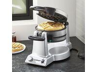 Cuisinart Commercial WW200K Belgian Double Waffle Maker NEW
