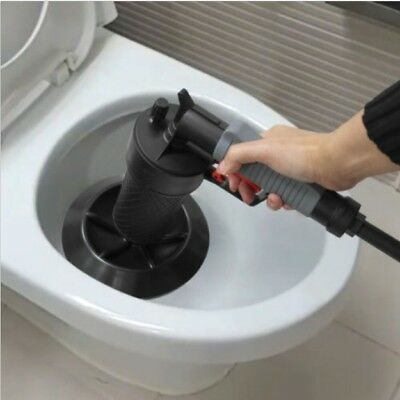 Superpang Power Pipe Sink Dredge Cleaning Tool Air Pressure Drain Plumbing Clean