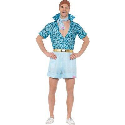 tüm Safari Ken 1990s Erwachsene Kostüm Outfit Herren (Ken Barbie Kostüm)