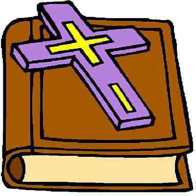 30 Custom Purple Cross Bible Personalized Address Labels