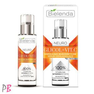 Bielenda NEURO GLICOL + VIT C Vitamin C Glycolic Acid Exfoliating Face Serum