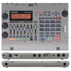 Boss BR 600 Digital Recorder