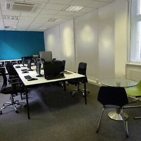 Friendly professional office share in desirable area of the City, minutes from major tube stations