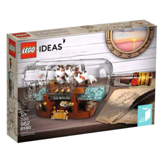 Lego Ideas - Ship in a Bottle NEW