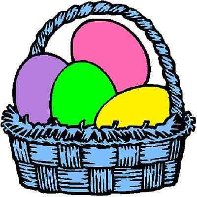 30 Custom Blue Egg Basket Personalized Address Labels