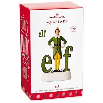 Hallmark 2017 Elf Buddy the Elf Will Ferrell MAGIC Ornament Mint in Box! ()