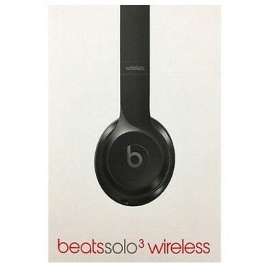 Beats By Dre - Beats by Dr. Dre Solo 3 Wireless On Ear Headphones Headband - Gloss Black