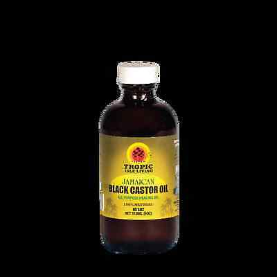 Tropic Isle Living Jamaican Black Castor Oil 4 oz