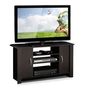 small center with doors tv stand for flat screens media center new