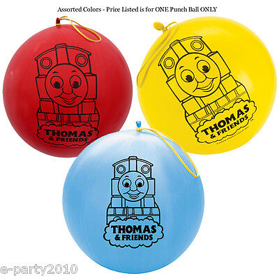 THOMAS THE TANK AND FRIENDS PUNCH BALL ~ Birthday Party Supplies Favor Toys  - Thomas The Tank Birthday