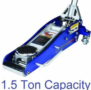 1 5 ton low profile compact aluminum racing floor jack