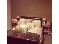 Double sleigh bed for quick sale