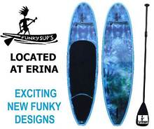 Stand Up Paddle Board SUP Package 10' 10'6 11'2 Surfboard FUNKY Erina Gosford Area Preview