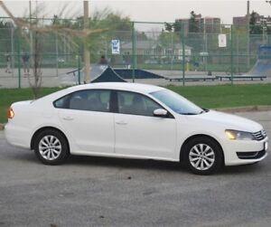 2013 Volkswagen Passat 2.5 Trendline - White