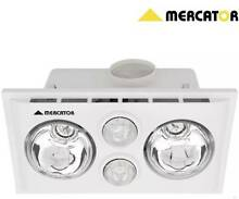 HEAT LAMPS, EXHAUST FAN AND LIGHT 3-IN-1 WHITE Mount Pleasant Melville Area Preview
