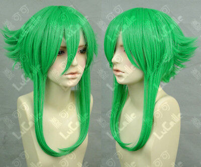 VOCALOID Megpoid Gumi Anti-Alice Short Grass Green Cosplay Hair Wig + Wig - Alice Wig