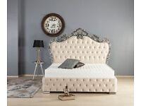 Ex-Display Kingsize Bed including matteress.