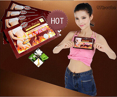 Best Sale 10Pcs/Bag Trim Pads Slim Patches Slimming Fast  Burn Calorie CUB