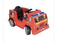 Fireman sam truck 6V