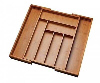 Kitchen Drawer Organizer, Adjustable Drawer Dividers to Fit Snugly Into Any