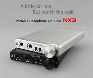 Black TOPPING NX3 Portable Headphone Earphone Amplifier HIFI Stereo Audio Amp UK