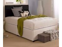 Brand new double bed with ortho mattress