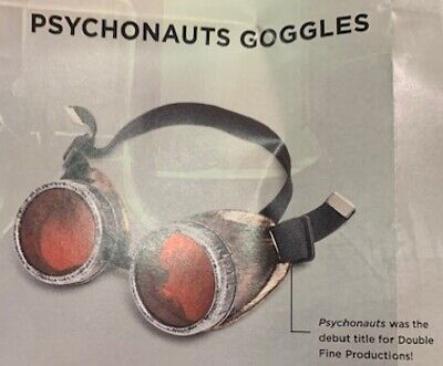 LOOT CRATE GAMING PSYCHONAUTS RAZ GOGGLES Steampunk Cosplay Costume