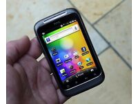 HTC WILDFIRE S **UNLOCKED ANY SIM** Android smartphone