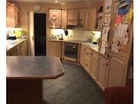 Kitchen- solid oak