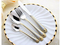 "versace home cutlery ""4 piece Set"