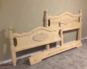 Queen bed headboard,footboard