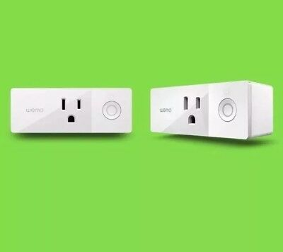 Wemo Mini Smart Plug, Wi-Fi Enabled, Works with Amazon Alexa NEW IN BOX