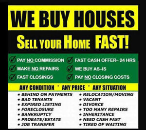 We Will Buy Any Calgary House & Pay Cash