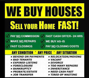 Wanted: **I buy houses in ANY CONDITION in Mississauga GTA ! ***