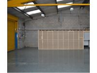 Warehouse Storage Workshop Unit 3000 sq feet To Let in Edinburgh City Centre Newly Refurbished