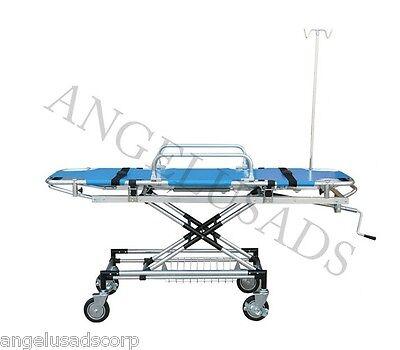 Medical Emergency Aluminum Alloy Trolley Stretcher 191-mayday