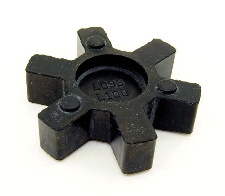 L099 / L100 Rubber Spider Insert Fits LO99 & L-100 Lovejoy Martin L-Jaw Coupling