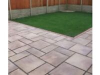 garden & landscaping services paving fencing turfing decking ect artifical grass walls shed base